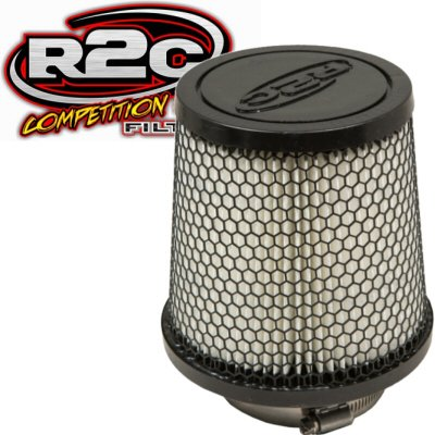 R2C Cleanable Off Road Series Tapered Conical Air Filter 4 Inch Outlet 7.25 Base 5.34 Top 7 Tall (R2c Air Cleaner compare prices)