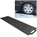 Car Truck Multi-Link Tire Traction Mat - Never Get Stuck in Snow, Sand, Mud