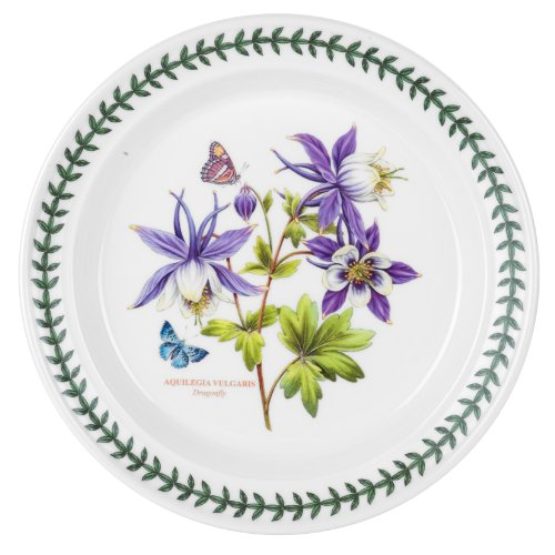 Portmeirion Exotic Botanic Garden Dinner Plate With Dragonfly Motif