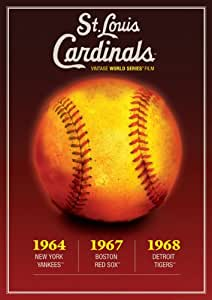 MLB Vintage World Series Films - St. Louis Cardinals 1964, 1967 & 1968