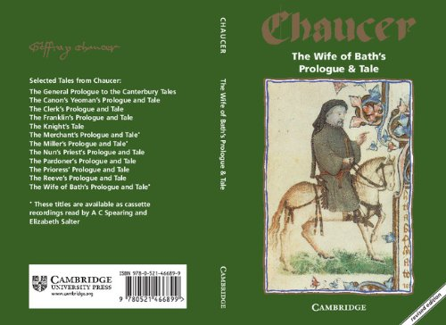 feminist failure in the wife of baths prologue english literature essay Feminism in chaucer's wife of bath essay shows in both the wife of bath's prologue and her as the first actual feminist character in literature.