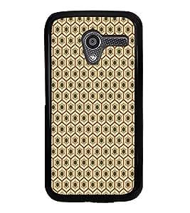 ifasho Designer Phone Back Case Cover Motorola Moto X :: Motorola Moto X (1st Gen) XT1052 XT1058 XT1053 XT1056 XT1060 XT1055 ( Blue Grey Green Pattern Design )