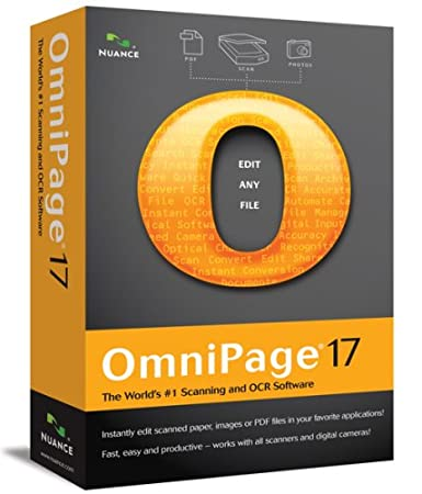 OmniPage 17 [Old Version]