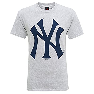 D2W Men's Official York Yankees Large Logo T-Shirt