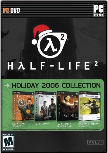 Half Life 2 Holiday Collection DVD (Half Life 1, Half Life2, Half Life 2 Episode 1, Counter Strike: Source)