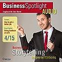 Business Englisch lernen - Präsentationen als Form des Geschichtenerzählens Hörbuch von  div. Gesprochen von:  div.
