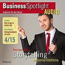 Business Englisch lernen - Präsentationen als Form des Geschichtenerzählens (       ungekürzt) von  div. Gesprochen von:  div.