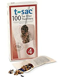 T-Sac Tea Filter Size 4 - 400 Filters