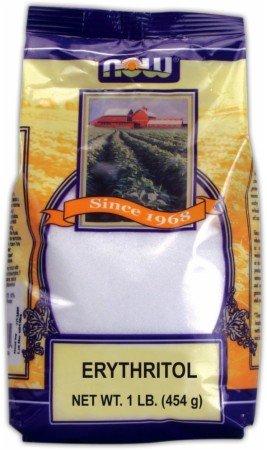 Now Foods, Erythritol 100% Natural Sweetner 1 lb