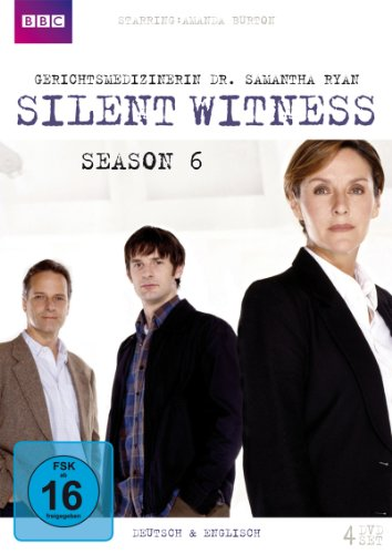 Silent Witness_Gerichtsmedizinerin Dr. Samantha Ryan - Season 6 [4 DVDs]