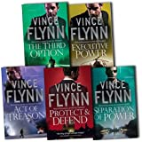 Vince Flynn Vince Flynn Mitch Rapp 5 Books Collection Pack Set RRP: £34.95 (Executive Power, The Third Option, Separation of Power, Protect & Defend, Act of Treason)