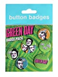 GB eye Green Day Uno Dos Tres Badge Pack
