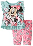 Disney Baby Girls' Minnie Mouse Bike Short Set  Teal