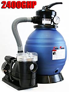 Pro 2400gph 13 Sand Filter W 3 4hp Water Pump Above Ground Swimming Pool Pump Wes2