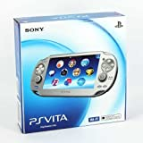 Ice Silver Sony Playstation Ps Vita Portable Handheld Game System Console [REGION FREE WI-FI MODEL] [video game]