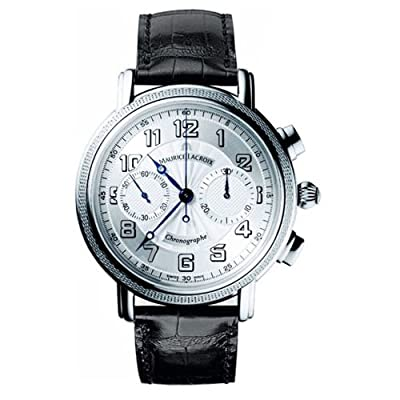 Maurice Lacroix Masterpiece Venus Chronograph Automatic Silver Dial Mens Watch MP7038WG101-120