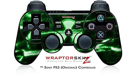 Sony PS3 Controller Skin - Radioactive Green
