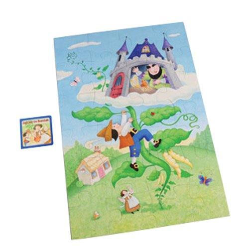 Cheap Constructive Playthings Jack and the Beanstalk Floor Puzzle & Book Set (B003Y7AN4O)