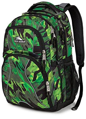 High Sierra Swerve Backpack,Cognito / Black front-604799