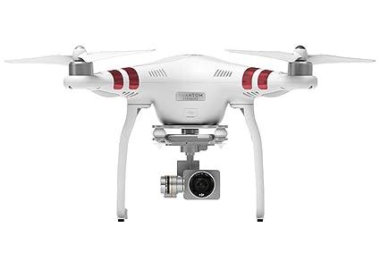 DJI Phantom 3 Standard Drone Professionnel Aerial UAV Quadrirotor Professionnel avec Caméra Vidéo Intégrée de 2.7K Full HD - Blanc