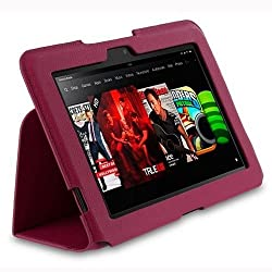 Roocase RC-FIRE-HD8.9-US-MA Amazon Kindle Fire HD 8.9 Ultra-slim Case, Magenta
