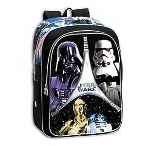 Star Wars - Guerra De Las Galaxias Backpack Mochila Daypack - Original
