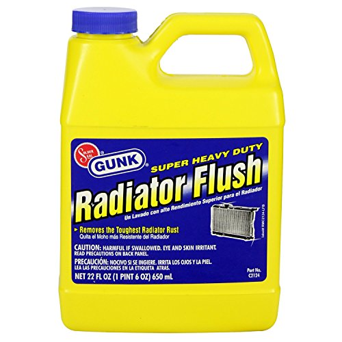Motor Medic C2124 Super Heavty Duty Radiator Flush 22 Oz