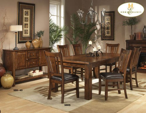Dining Table by Homelegance - Natural Wood (986-78)