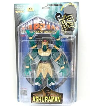 Romando Ultimate Muscle's Ashuraman clear green ver (500 body only) Kinnikuman (japan import)
