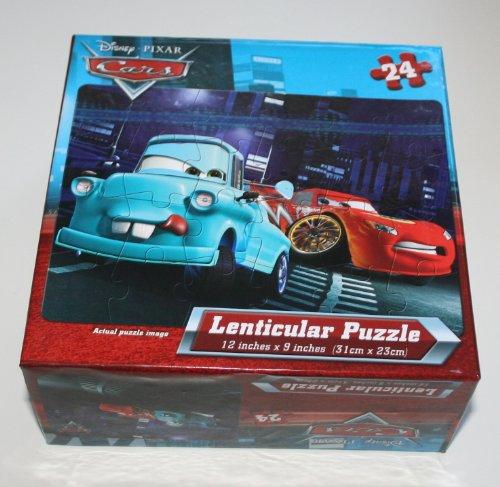 Disney Pixar Cars 24 Piece Lenticular Puzzle Mcqueen & Mater