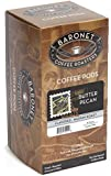 Baronet Coffee Butter Pecan Medium Roast, 18-Count Coffee Pods (Pack of 3)