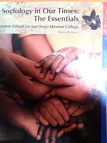 Sociology in Our Times: The Essentials (6th edition)