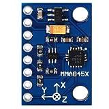 SunFounder 3-Achsen ADXL345 Digital Beschleunigungssensor Accelerometer Modul Bewegungserkennung Beschleunigung Neigung Erschütterung Vibrationsmesser Akzelerometer für Arduino und Raspberry Pi von SunFounder