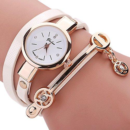Moda Donna Bracciale in pelle casual donne orologio al quarzo Luxury Brand polso orologio regalo