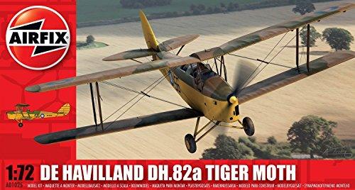 Airfix A01025 De Havilland DH.82a Tiger Moth Model Kit (1:72 Scale)
