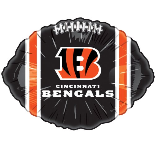 Cincinnati Bengals 18in Foil Balloon