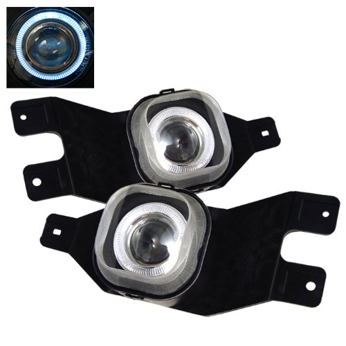 Ford F250/F350 / Ford Excursion Halo Projector Fog Lights With Clear Lens (02 F250 Headlight Switch compare prices)