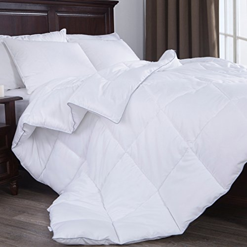 Puredown White Down Alternative Comforter Duvet Insert