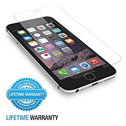 iPhone 6 Plus Screen Protector, Easylife&trade, Flexible, Premium Ultrathin[0.26mm], Anti-Scratch, Anti-Oil, Explosion Proof, Bubble Free, High Definition (HD), 9H Hardness, 2.5D Arc Angle, Touchscreen Accuracy Tempered Glass Screen Protector for Apple iP