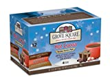 Grove Square Hot Cocoa Variety Pack, 12-Count Single Serve Cup for Keurig K-Cup Brewers (Pack of 3) FlavorName: Variety Pack Size: 12-Count (Pack of 3) Home & Kitchen