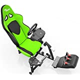 Openwheeler Racing Wheel Stand Cockpit Green/Black | For Logitech G29 | G920 And Logitech G27 | G25 | Thrustmaster...