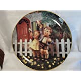 "The Danbury Mint M I Hummel Little Companions Series ""Come Back Soon"" Collector Plate"