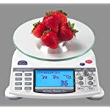 "NutraTrack Pro ""Digital Nutrition Scale"""
