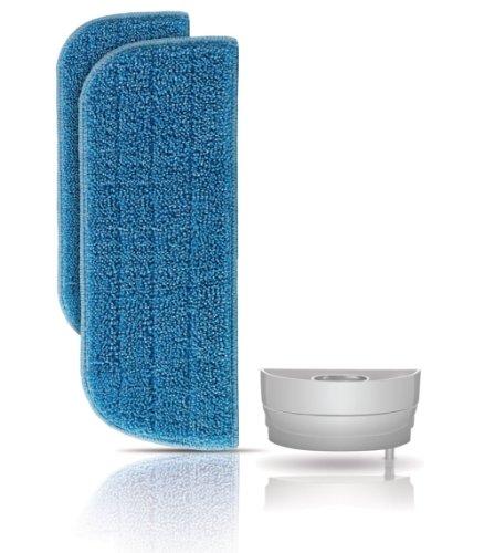 Philips FC8056/01 Kit ricambio per Philips FC7020/01 SteamPlus, 2 panni in microfibra lavabili e riutilizzabili