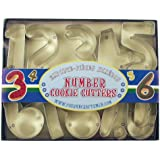Fox Run 3640 Number Set Cookie Cutter Set