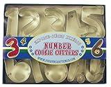 Fox Run Number Set Cookie Cutter Set