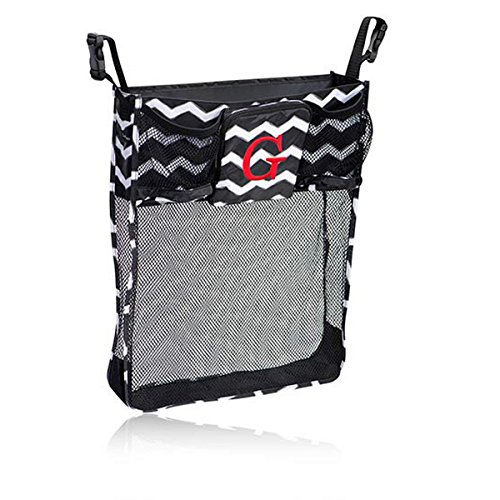 Thirty One On A Stroll Bag In Black Chevron - No Monogram - 4639 front-921267