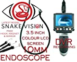 ENDOSCOPE INSPECTION CAMERA BORESCOPE VIDEO RECORDER 3.5
