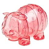 Large Money Savvy Pig- Pink