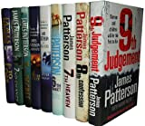 James Patterson James Patterson Collection 9 Books Set Pack RRP £167.91 (9th Judgement, 8th Confession, 7th Heaven, The 6th Target, The 5th Horseman, 4th of July, 3rd Degree, 2nd Chance, 1st to Die) (Womens Murder Club)